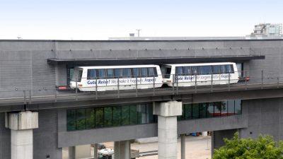 Sky Line fährt die neue Station C am Terminal 1 an