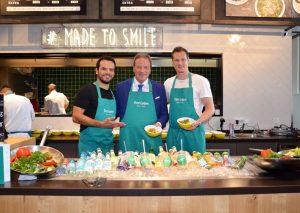 Marcell Jansen und Steffen Henssler eröffnen Restaurant am Köln-Bonner Flughafen