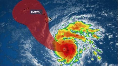 Hurricane Lane auf Kategorie 5 hochgestuft