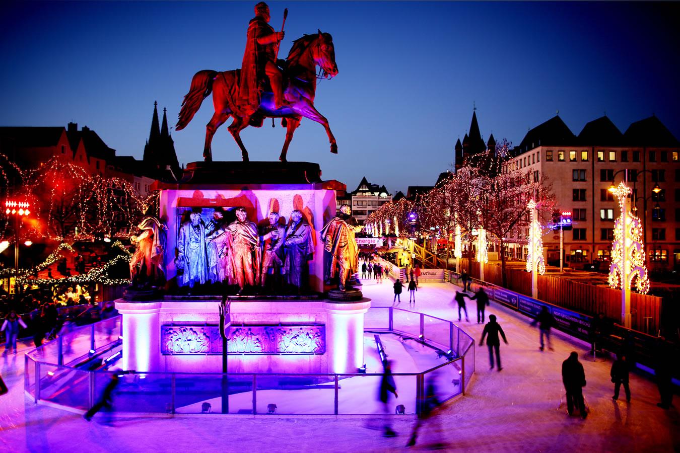 Historischer Weihnachtsmarkt in Köln