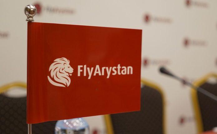 FlyArystan nimmt Anfang Mai den Flugbetrieb auf
