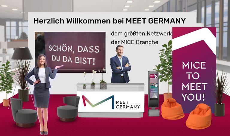 Erstes hybride Event von MEET GERMANY war ein voller Erfolg