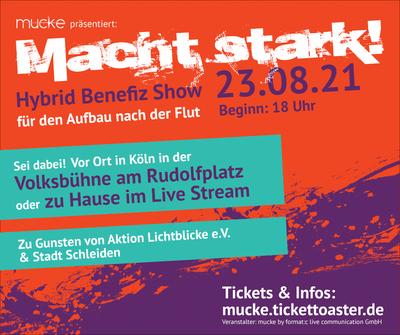 Gemeinsam helfen MACHT STARK! in Köln