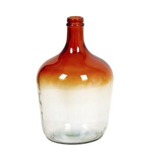 Carafe vase bicolore orange Etxe Mia!