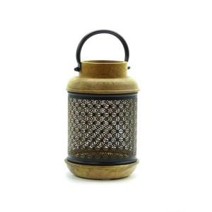 Lanterne bois métal Etxe Mia!