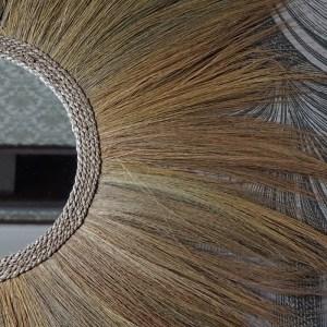 miroir fibres végétales Etxe Mia!
