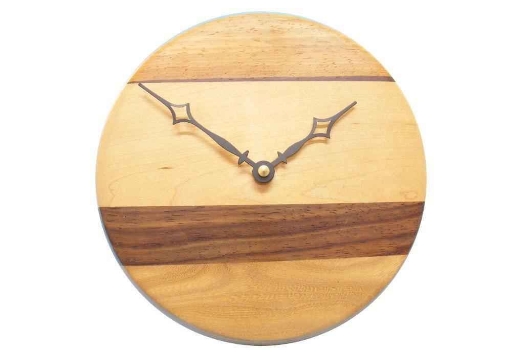 Multi Woods Wall Clock-Kitchen Wall Clocks-Wooden Wall Clock