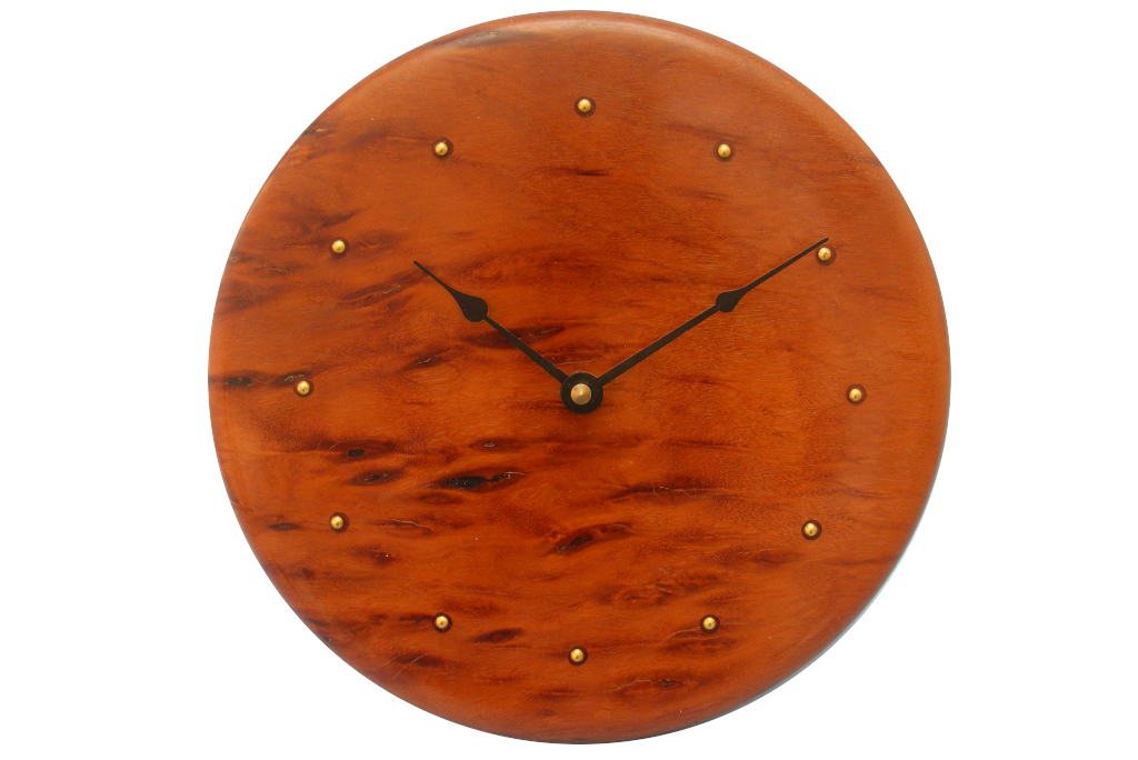 Contemporary Wall Clock- Wood Wall Clock-Modern Wall Clock
