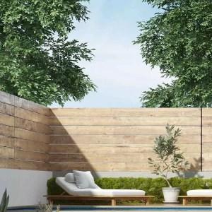 גדר עץ עבודת עץ