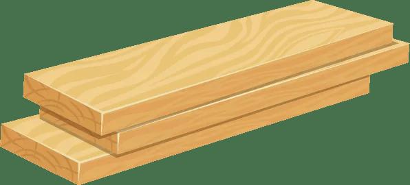 קורות עץ רגילות