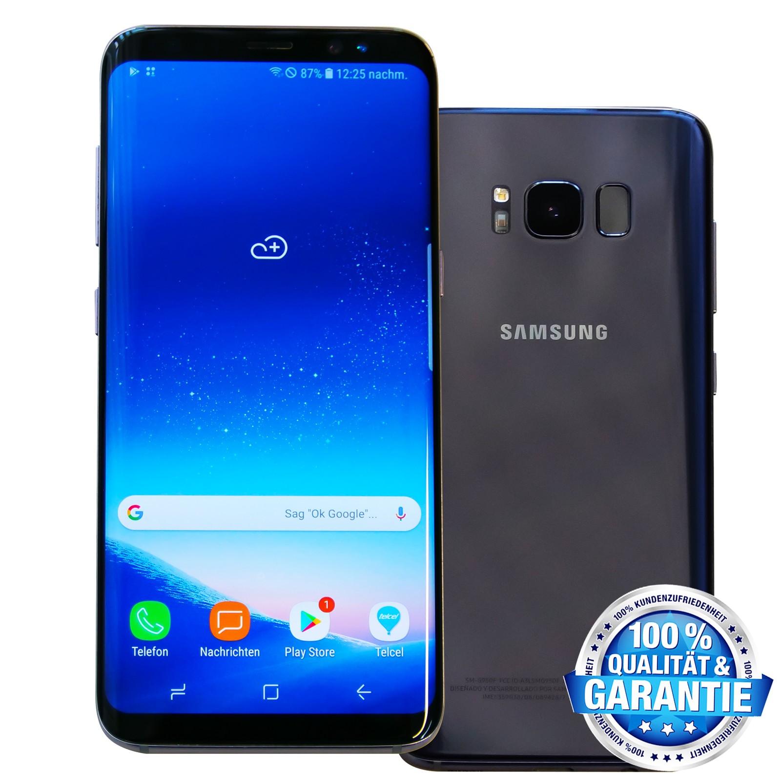 Samsung Galaxy S8 Gebraucht 64gb Ohne Vertrag Grau Eu Computer Alexander Geier Walter Stoll Gbr