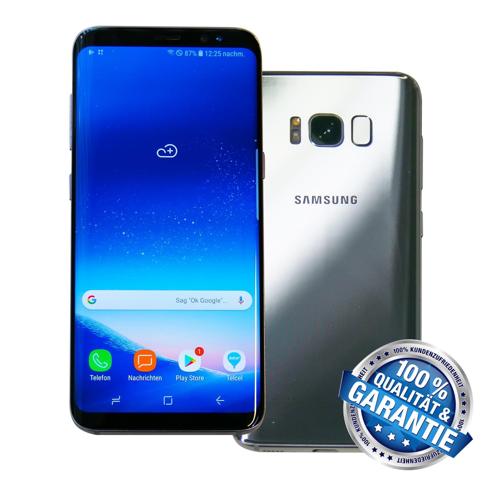 Samsung Galaxy S8 Gebraucht 64gb Ohne Vertrag Eu Computer Alexander Geier Walter Stoll Gbr
