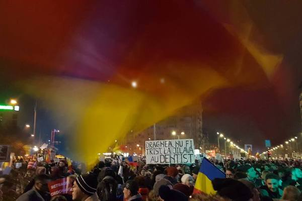 Romanian anti-corruption protests