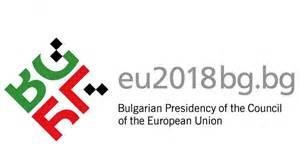 Logo of Bulgaria's EU presidency