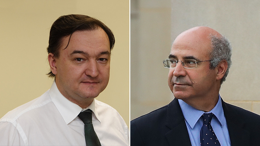 Sergei Magnitsky and Bill Browder