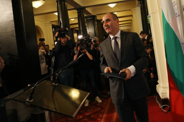 Tsvetan Tsvetanov leaves parliament