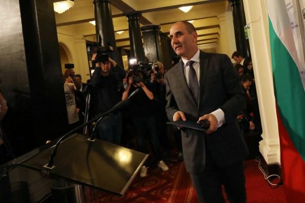 Tsvetan Tsvetanov leaves parliament