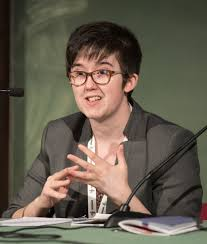 Journalist Lyra Mckee who was murdered by the New IRA during a riot on Thursday in Derry, Northern Ireland