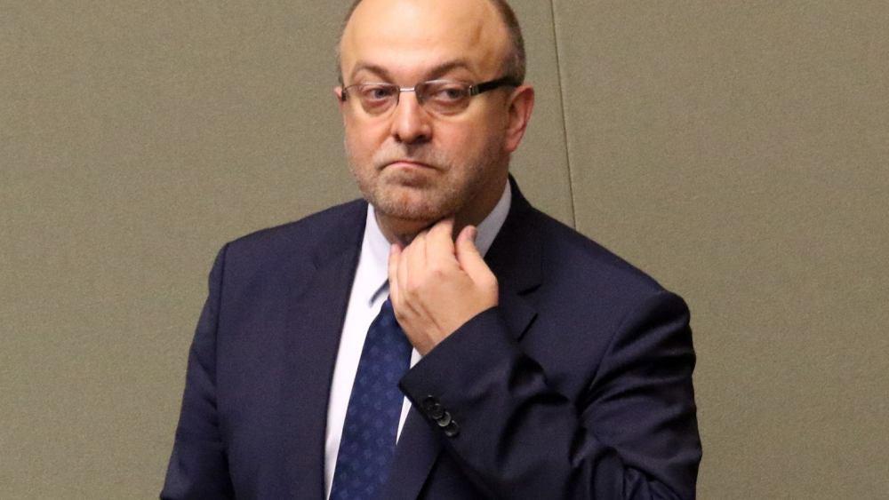 Former Polish Deputy Justice Minister Łukasz Piebiak