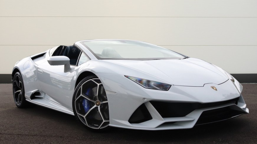 Used - Lamborghini Huracan EVO Spyder Cars for Sale   Grange
