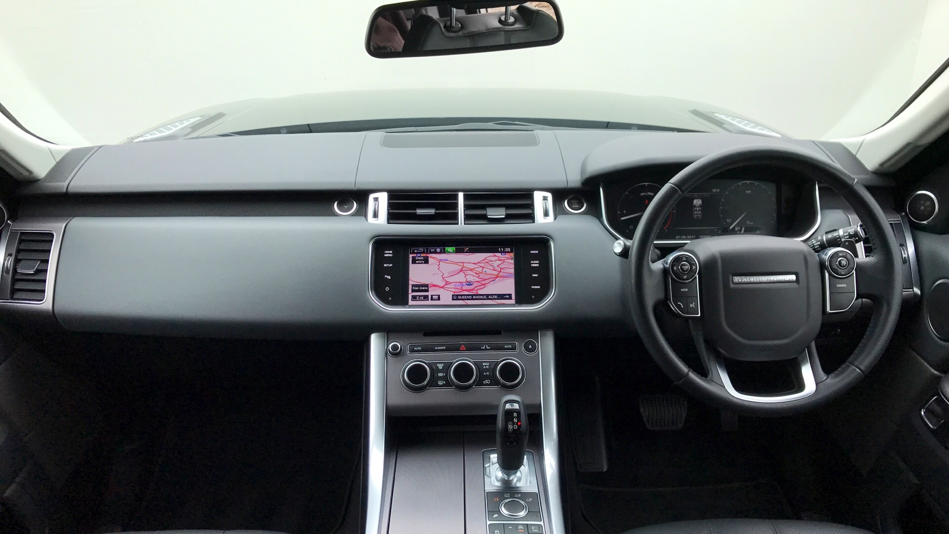 Used Land Rover Range Rover Sport HSE SDV6 Black LG63BTF