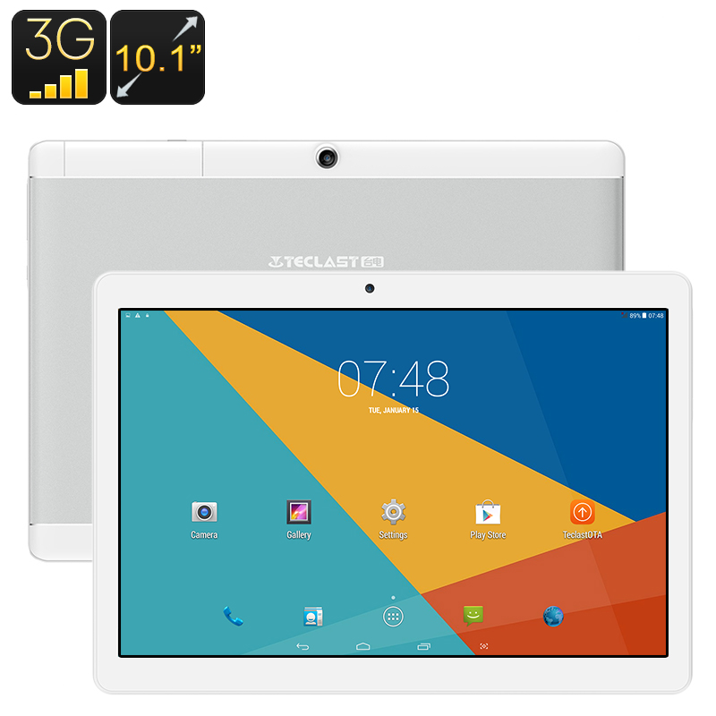 Teclast X10 3G Tablet - Android OS, 1 IMEI, 3G, OTG, Quad-Core CPU, 10.1 Inch Full-HD IPS Display, 4900mAh