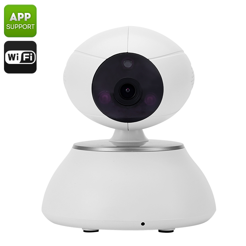 Indoor IP Camera - 1/4 Inch CMOS Sensor, 10m Night Vision, HD 720p, Remote Viewing, Wi-Fi