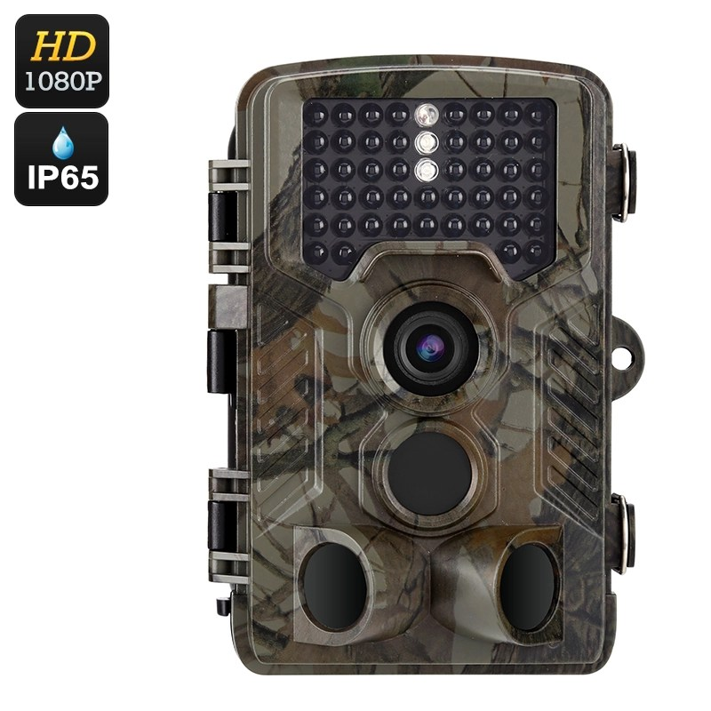 FHD Digital Trail Camera - 1080P, 12 Months Stand-By, 0.6 Seconds Fast Shooting, 2.4 Inch Display, IR Cut, 20M Night Vision