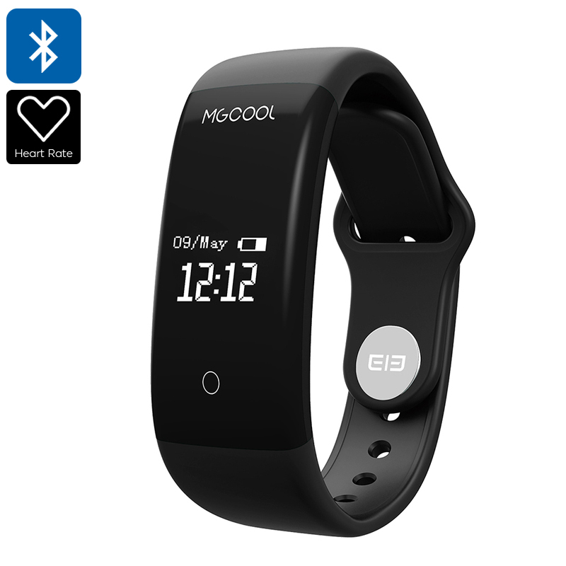 Elephone ELE MGCOOL Band 2 - Waterproof, HRM, Pedometer, Calorie Counter, Sleep Monitor, Call Reminder, 0.66-Inch Display