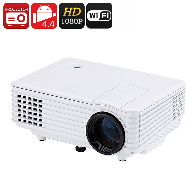 Mini Android Projector - Wi-Fi Connectivity, Google Play, Miracast, High Resolution