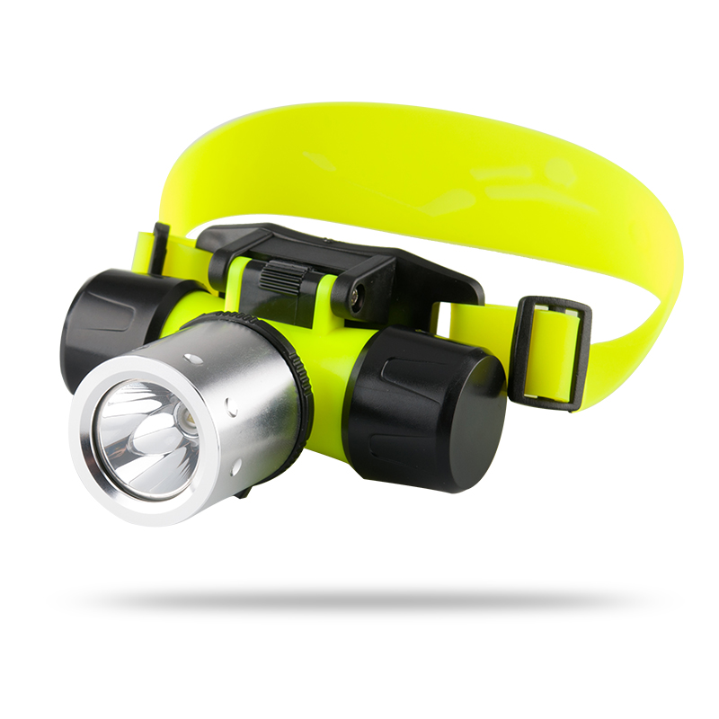 CREE T6 LED Diving Headlamp 'Nova' - 1200 Lumens, Waterproof Up To 60 Meters, Impact Resistant, Heavy Duty + Durable