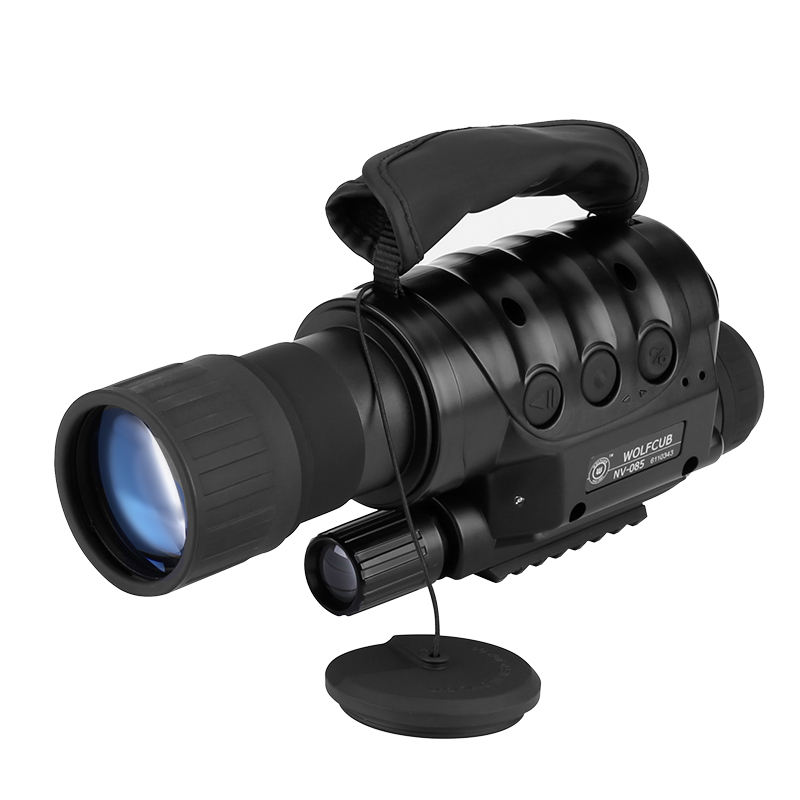 Rongland NV-650D+ Night Vision Monocular - Built-in Camera, 6x Zoom, 720M Range, 1.3MP CCD Sensor, 16GB Micro SD Slot