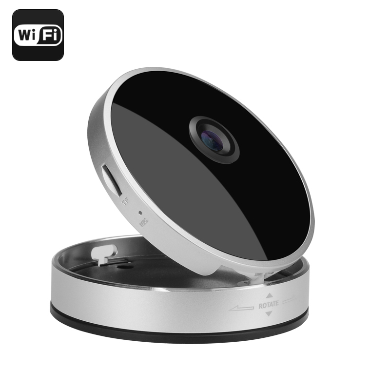Smart Home 720P Wireless IP Camera - Wi-Fi, P2P, Night Vision, IR Cut, Motion Detection, Mobile Support, Two Way Audio
