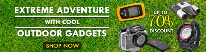 outdoor gadgets promotion deals