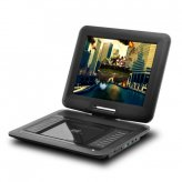 Portable DVD Player with 12 Inch Swivel Screen and Copy Function