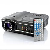 Multimedia LED Projector with Built-in DVD Player