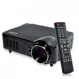MediaMax Pro - LED Multimedia Projector (DVB-T, HDMI, VGA, AV) - Black