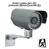 Security Camera with 1/3 Inch Sony CCD (Intelligent Motion Detection, IR)