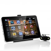 GPS Navigator - 7 Inch Touchscreen, Wireless Nightvison Rearview Camera, 4GB FREE TF Card