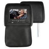7 Inch Headrest DVD Player with Emulator + FM Transmitter (Pair)