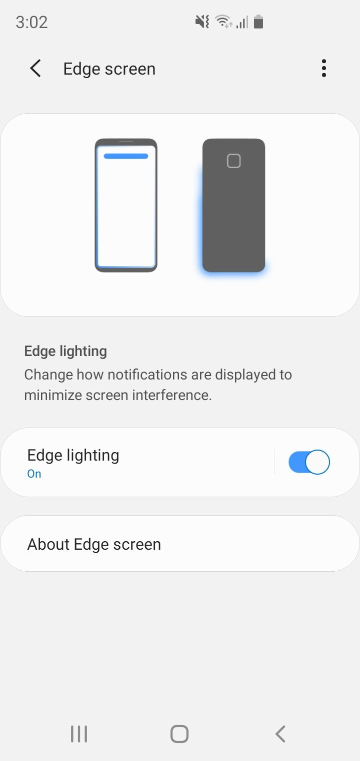 solved lost edge screen on s10