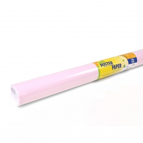school poster paper roll pastel pink