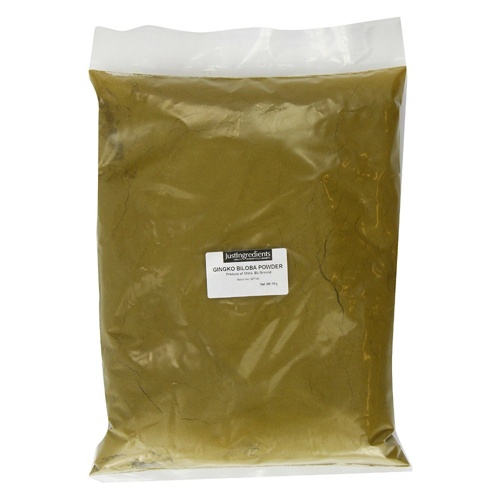 JustIngredients Ginkgo Biloba Powder Maidenhair 1 Kg