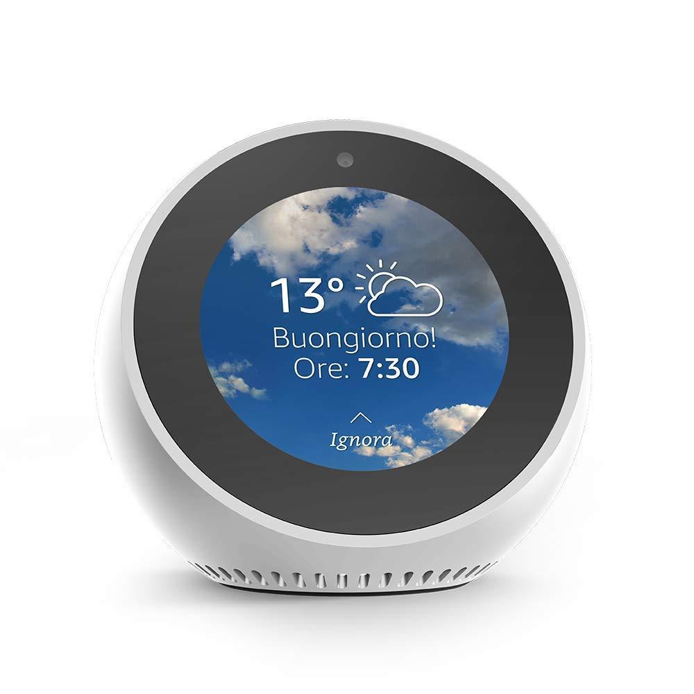 Amazon Echo Spot Italian Version with EU Power Adaptor
