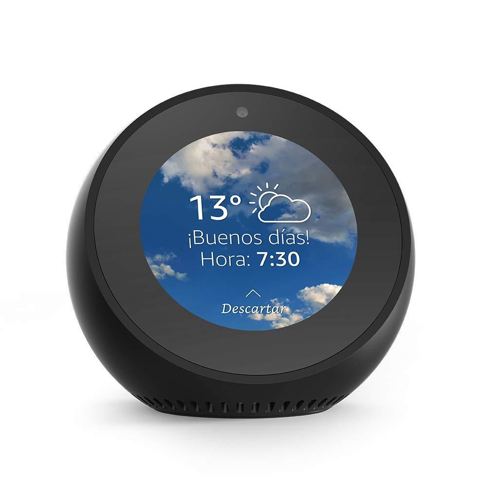 Amazon Echo Spot Spanish Version with EU Power Adaptor