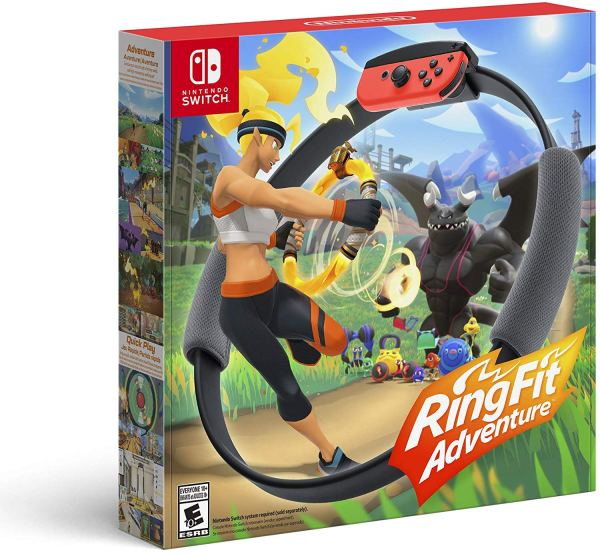 Ring Fit Adventure – Nintendo Switch