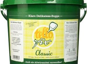 tellofix Classic Clear Delicacy Soup Versatile Vegetable Bouillon - 2000 g