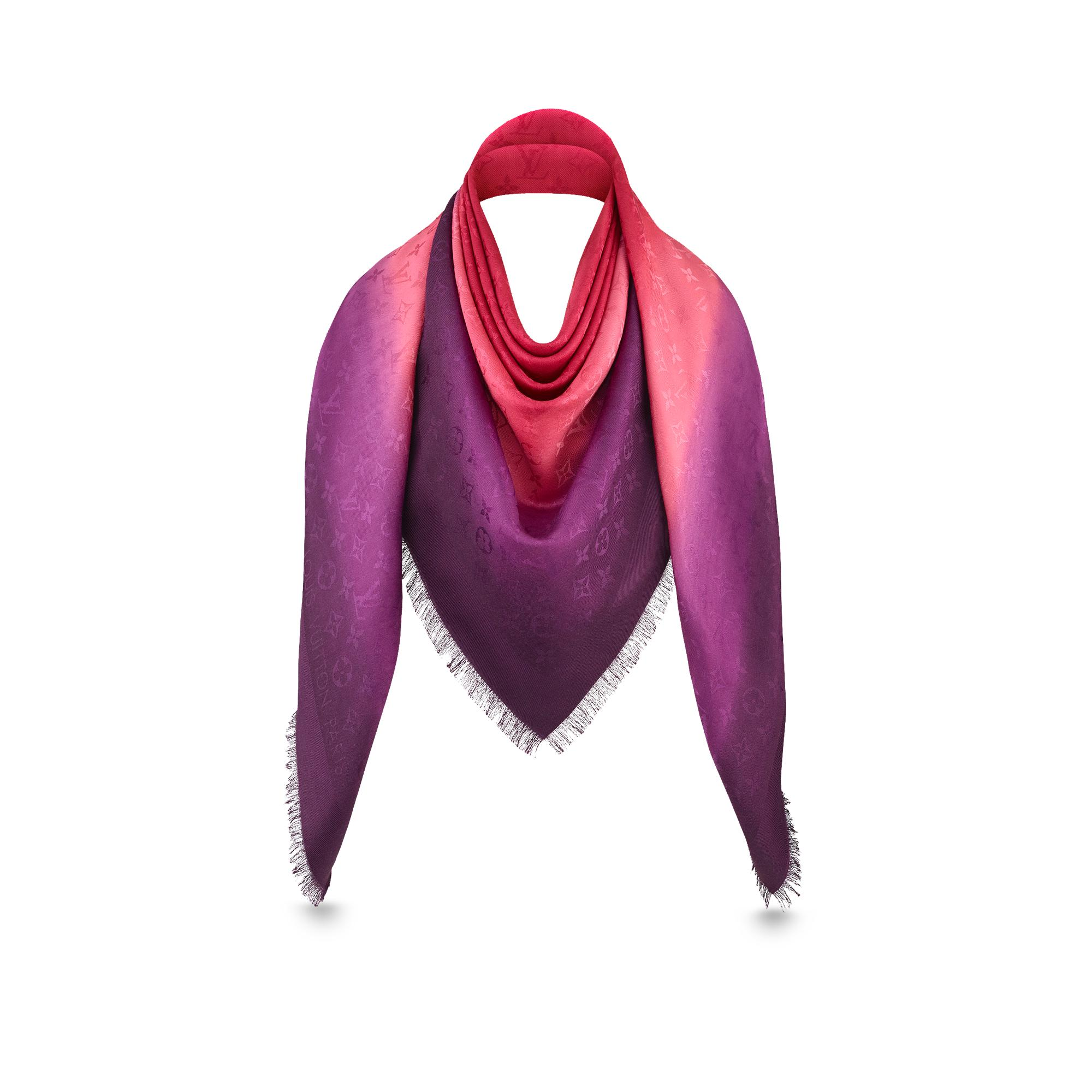 Blurrygram Monogram Shawl Accessories LOUIS VUITTON