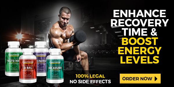 Crazy Bulk Bulking Stack Enhance Recovery Time and Boost Energy Levels