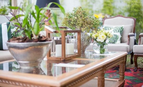 Decoração criada por Marcela Lenz Cesar com móveis da Lona Cristal. Foto Rodrigo Sack